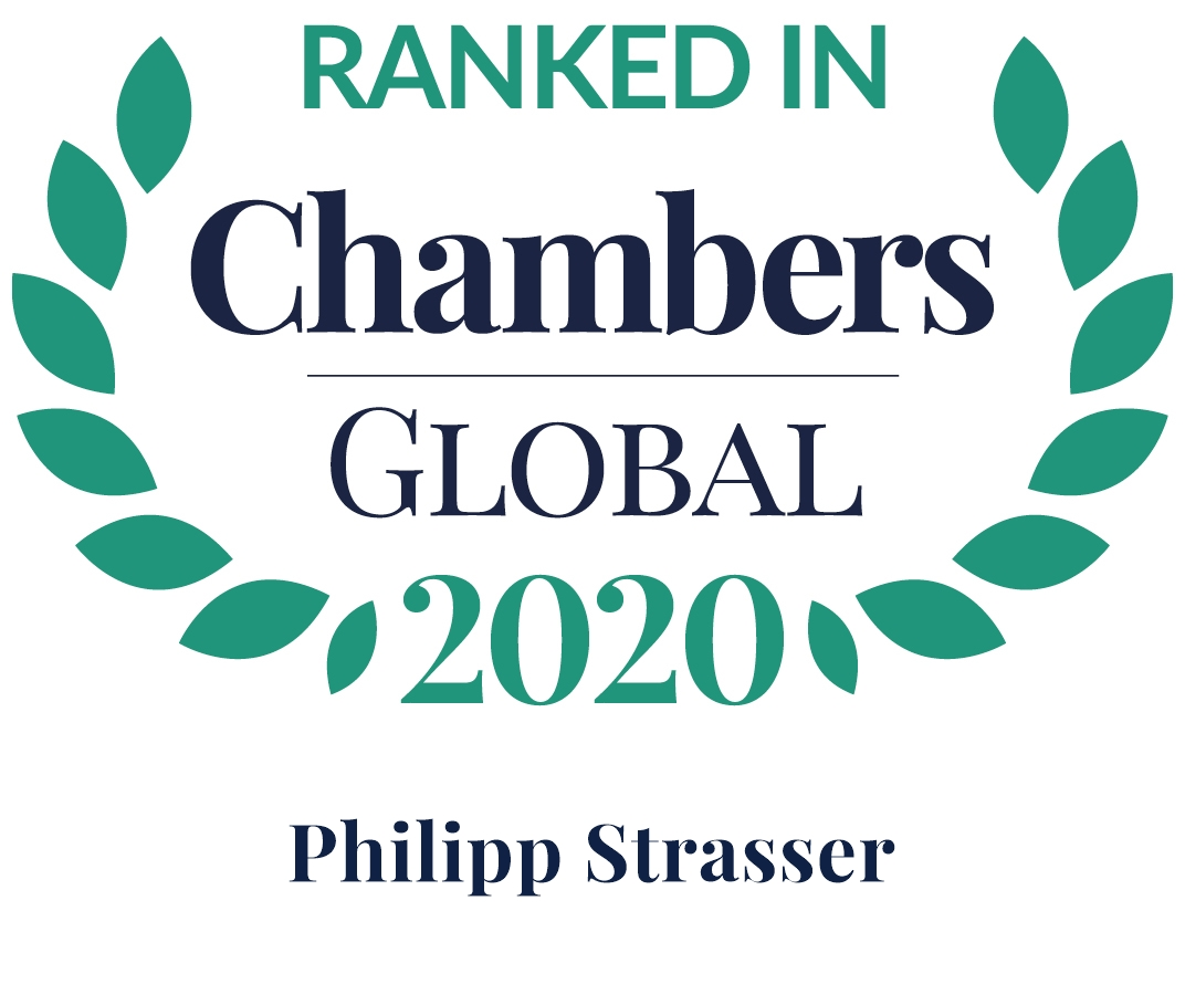 Chambers Global 2020: Philipp Strasser Dispute Resolution: Litigation
