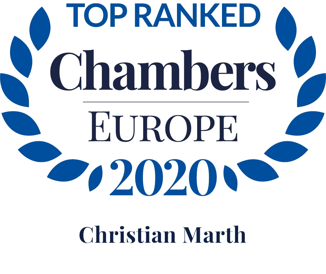 Chambers Europe 2020: Christian Marth is Leading Individual in Real Estate