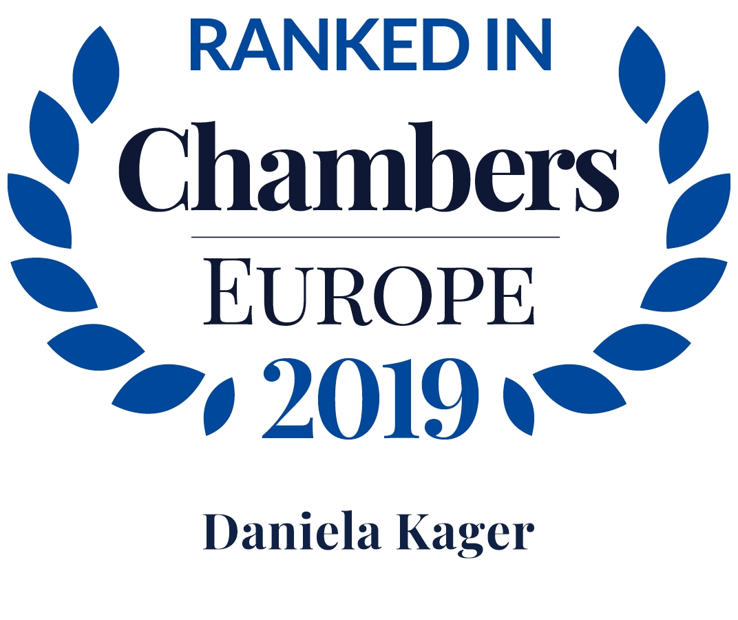 Chambers Europe 2019: Daniela Kager ist Leading Individual in Real Estate