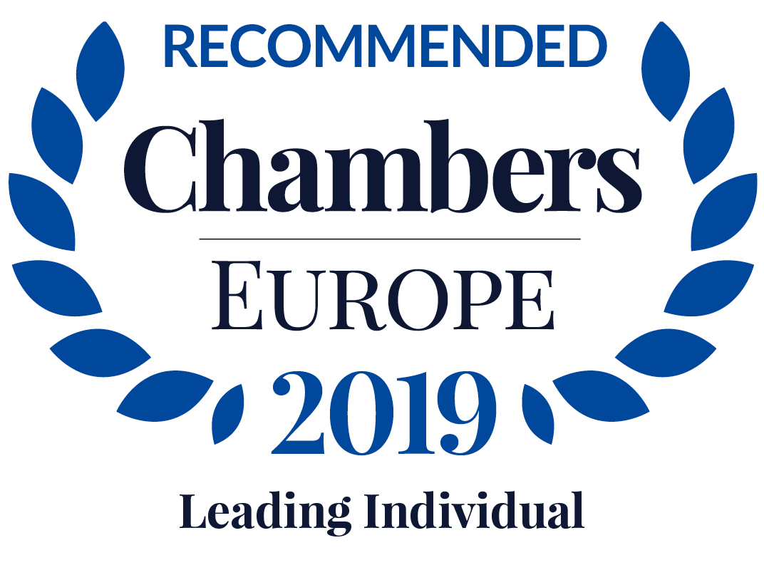 Chambers Europe 2019: Philipp Strasser is Leading Individual in Dispute Resolution: Litigation