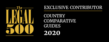 Contributor to The Legal 500 Comparative Guide Litigation 2020